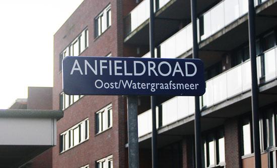 Anfield Road, De Meer