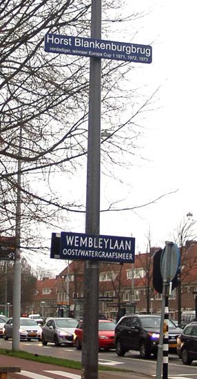 Blankenburg, Wembleylaan, De Meer