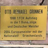 Otto Rehhagel-Brunnen, KL-Hohenecken