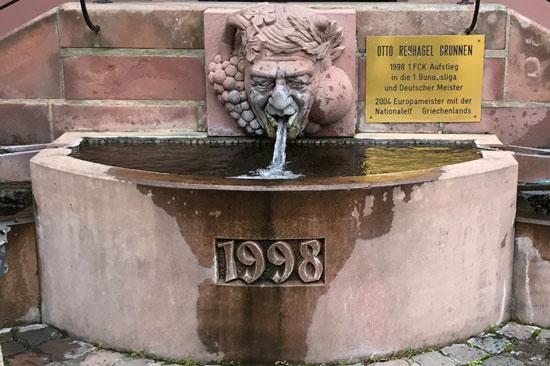 Otto Rehhagel-Brunnen KL-Hohenecken