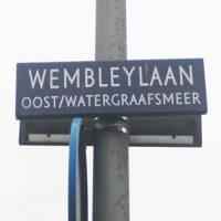 Wembleylaan, De meer