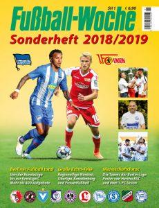 Cover Fußball-Woche-Sonderheft 2018/2019
