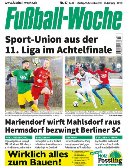 Fußball-Woche, Titel