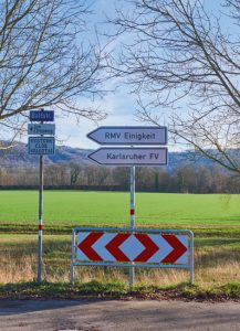 Schild Karlsruher FV